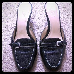 Ann Taylor Loft slides/mules